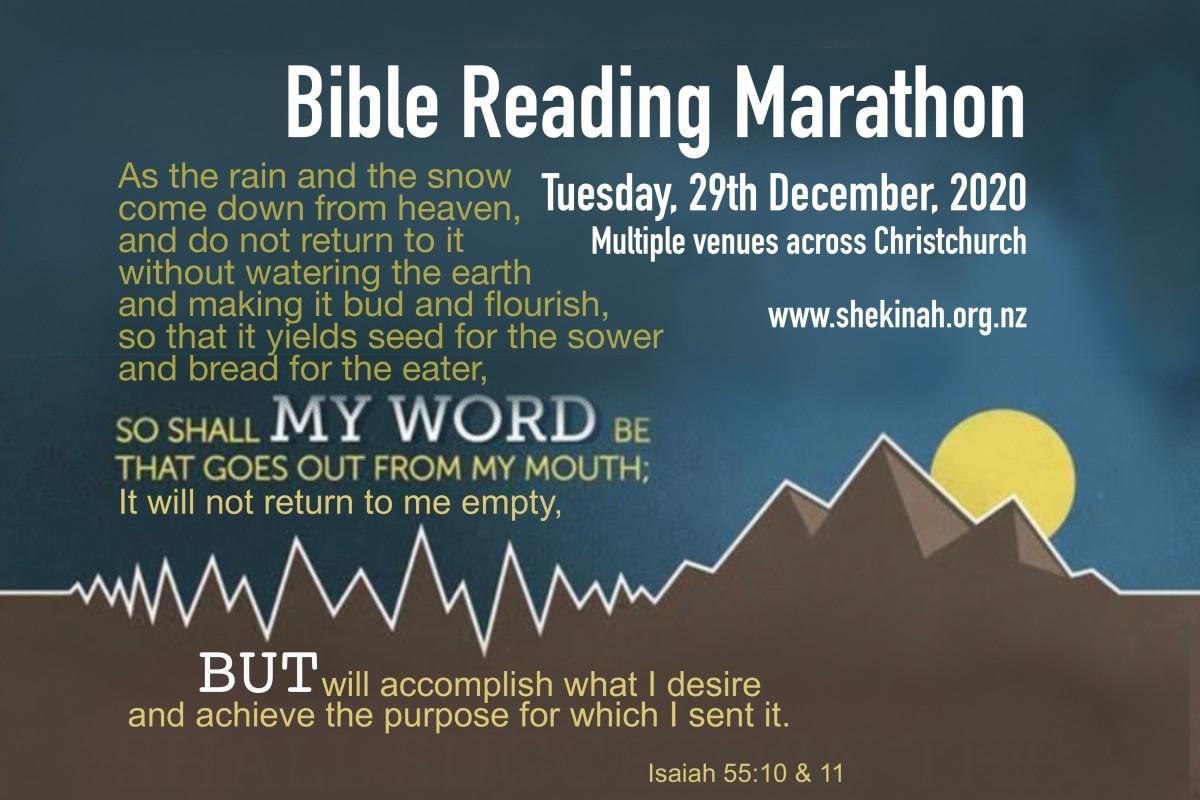Bible Marathon 20A 2